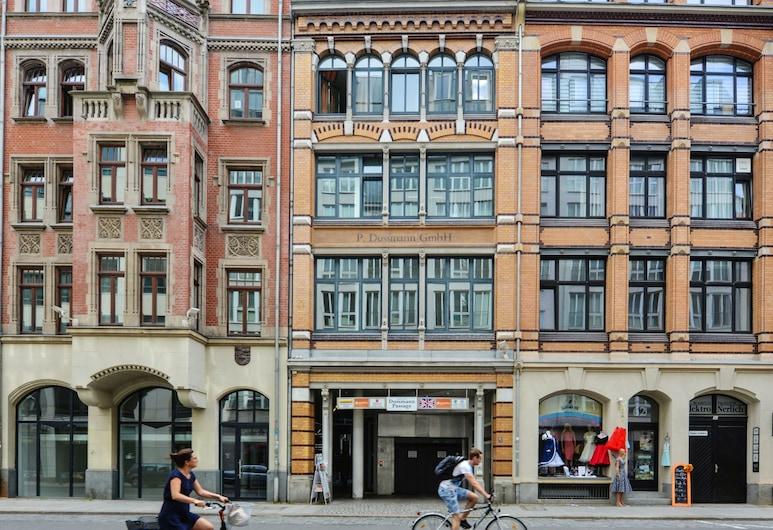 Pension SchlafGut, Leipzig, Voorkant hotel