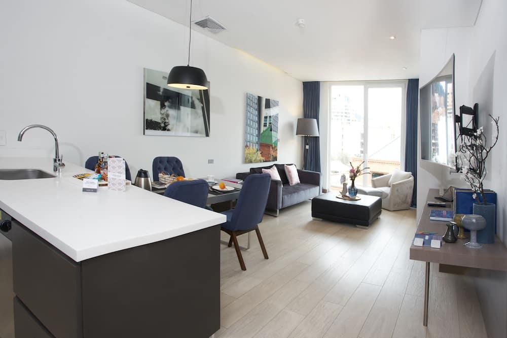 Suite Keluarga, 2 kamar tidur, dapur kecil - Ruang Keluarga