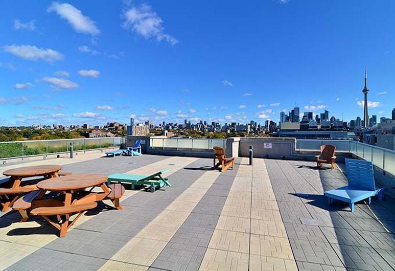 JJ Furnished Apartments Downtown Toronto: King's Luxury Loft, Toronto, Terraza o patio