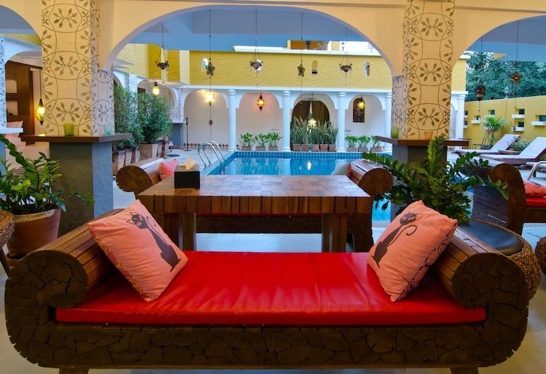 Riad Hua Hin Hotel, Hua Hin, Área para desayunar