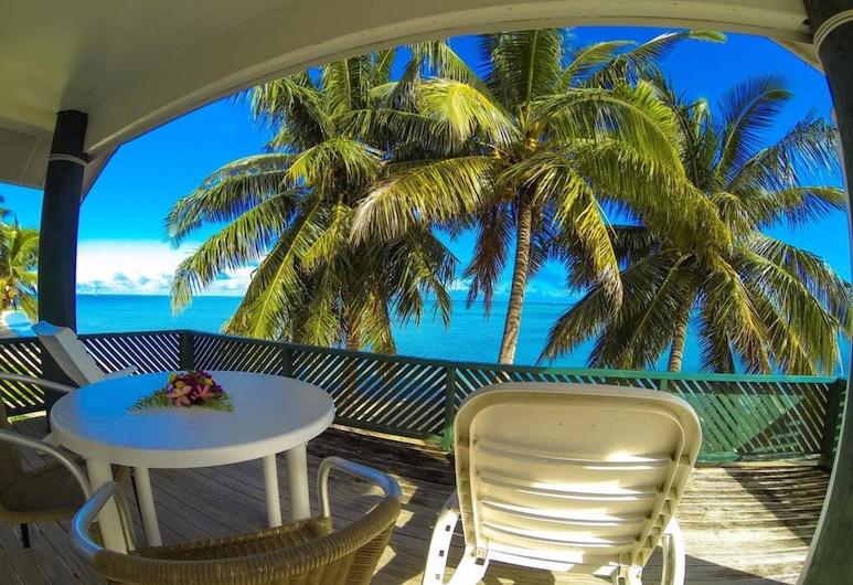 Rino's Motel, Aitutaki, Bungalow, Lagoon View, Guest Room