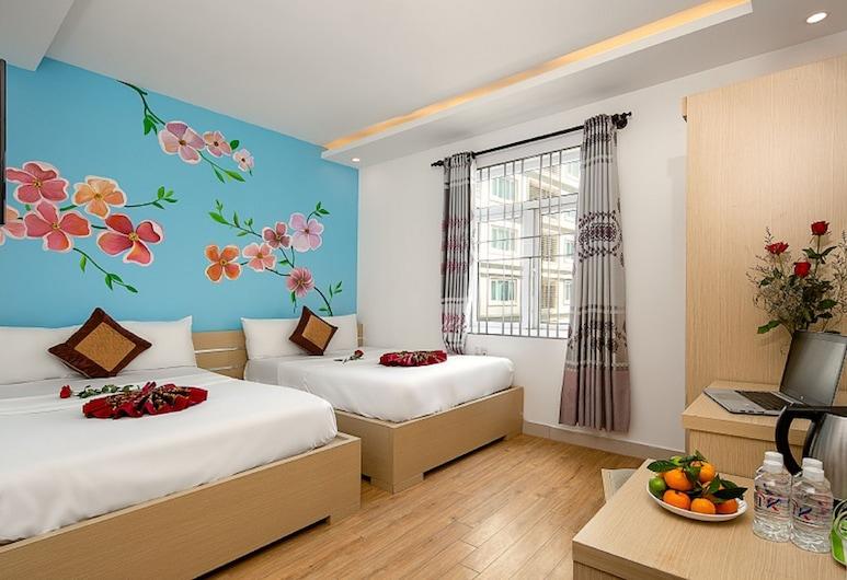 峴港海防團飯店, 峴港, 高級雙床房, 城市景觀 (or Partial Sea View), 客房