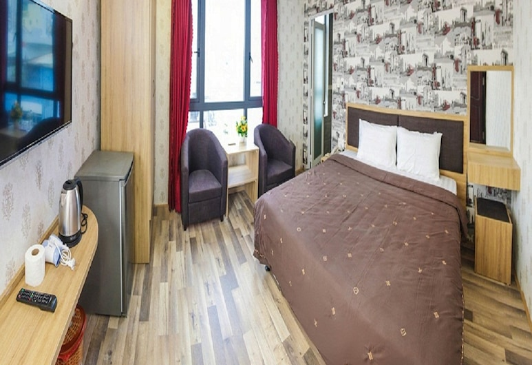Bin Star Hotel, Da Nang, Superior szoba kétszemélyes ággyal, 1 kétszemélyes ágy, kilátással a városra, Vendégszoba