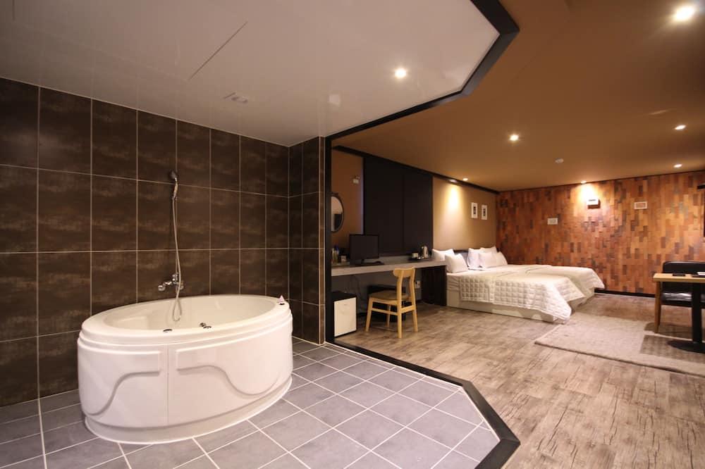 חדר דה-לוקס טווין - חדר אורחים