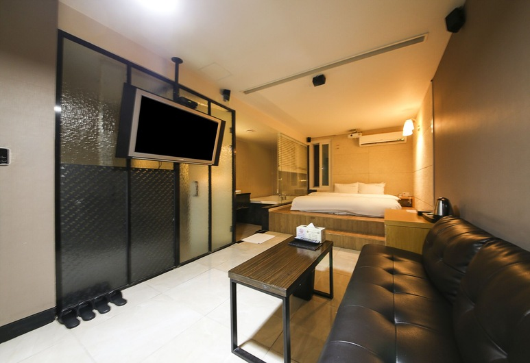 Gary Cooper Hotel, Busan, Movie Room (Netflix / Base occupancy 2, Extra person charge pay at hotel), Guest Room View