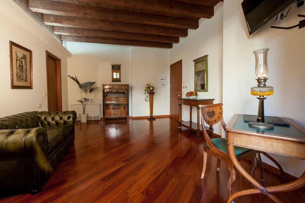 Apartament typu Suite, taras - Salon
