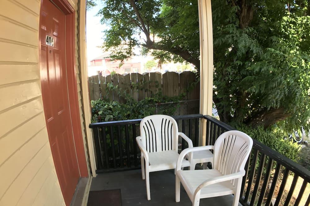 Zimmer, 1King-Bett, Nichtraucher, Kochnische - Terrasse/Patio
