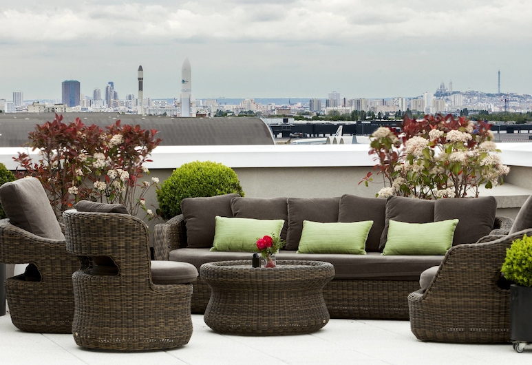 AC Hotel Paris Le Bourget Airport by Marriott, Dugny, Rooftop terrace