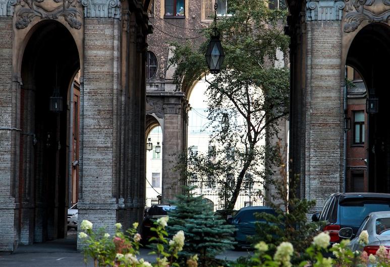 Arkada Hotel, San Pietroburgo, Cortile