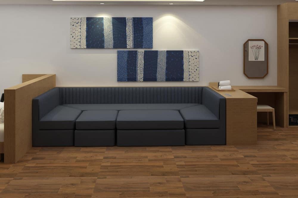 Suite Family Twin Room, Ocean View - Sala de estar