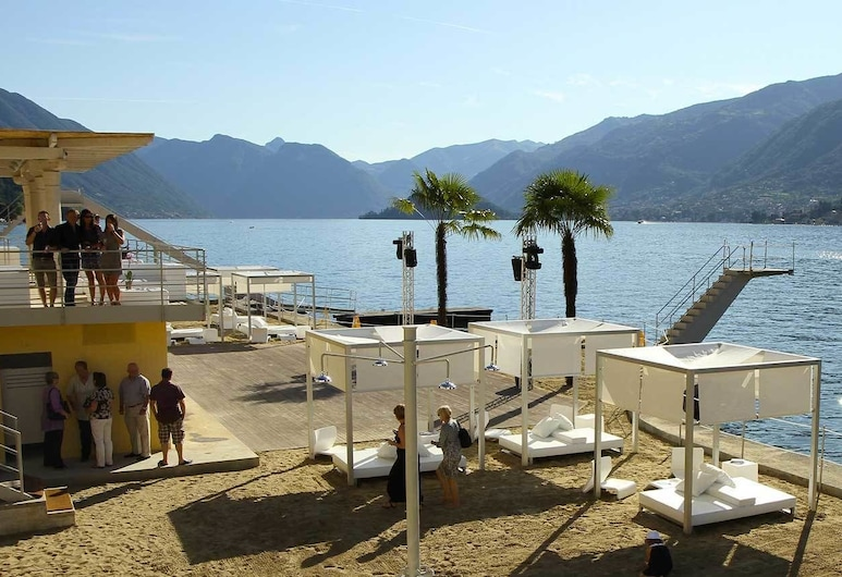 Hotel Silvio, Bellagio, Strand