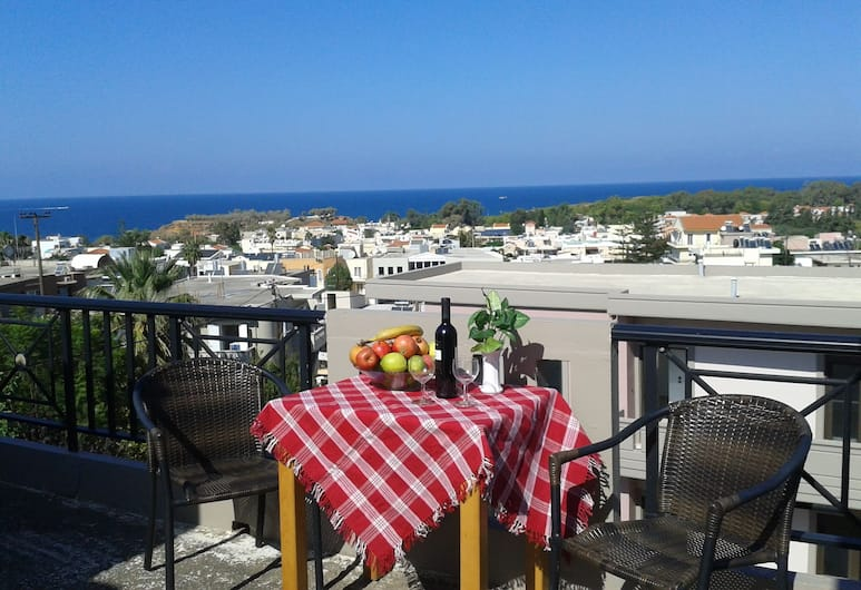 Angela, Chania, Superior Apartment, Sea View, Balcony
