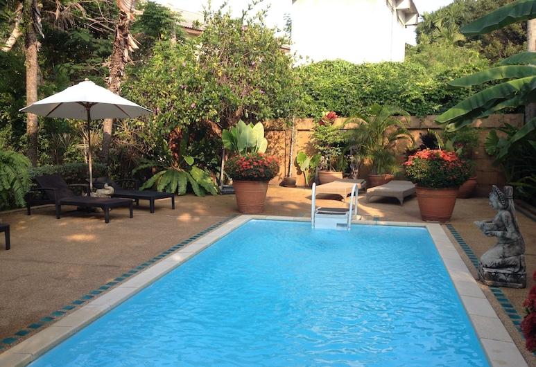 班基亞別墅酒店, 蘇梅島, 室外泳池