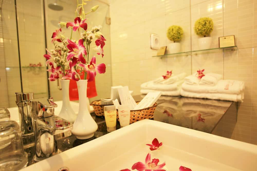蜜月套房 - 浴室洗手盤