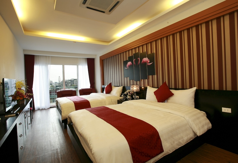 Eclipse Legend Hotel, Hanoi, Family Room, Guest Room View