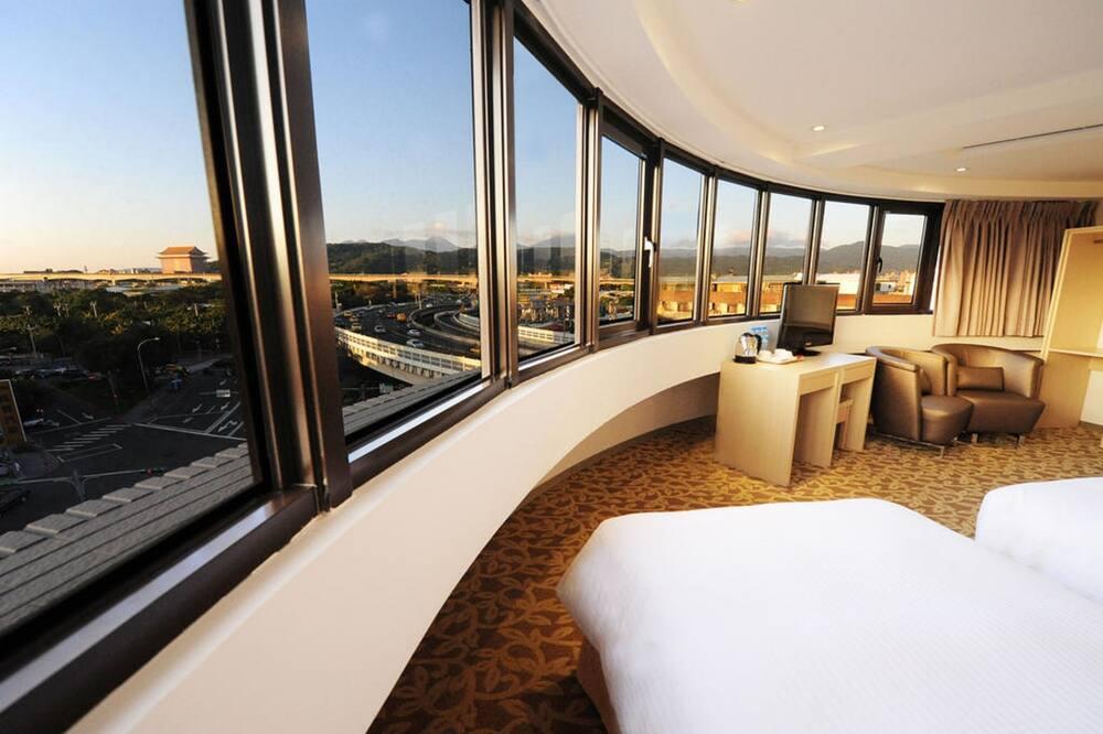 Phòng 3 có tầm nhìn toàn cảnh, 3 giường đơn, Quang cảnh thành phố - Phòng