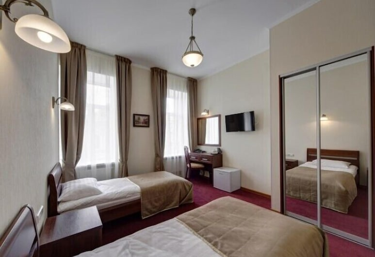 Solo on Nevsky Prospekt, Petrohrad, Dvojlôžková izba typu Classic s oddelenými lôžkami, Hosťovská izba