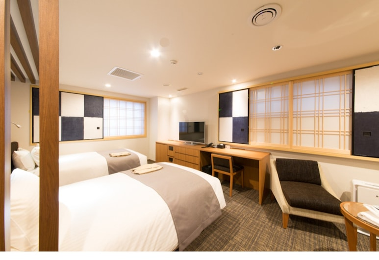 Almont Hotel Asakusa, Tokyo, Twin Room, Non Smoking, Guest Room