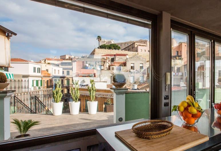 LAC 럭셔리 아파트먼트 칼리아리 바르셀로나, 칼리아리, 럭셔리 타운홈, 침실 1개, 전용 욕실, 객실에서 보이는 전망