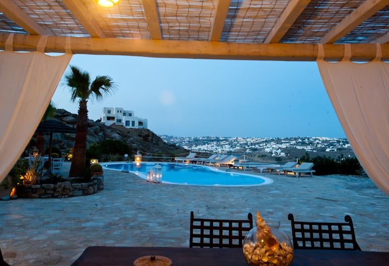 Navy Blue Suites, Mykonos, Kolam Terbuka