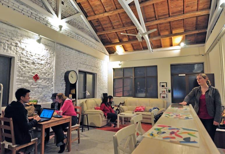 芒果客棧, 台北市, 大廳休息區