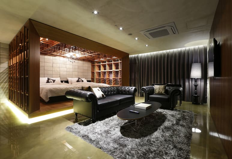 Hotel The Designers Incheon, Incheon, Suite Royale, Chambre
