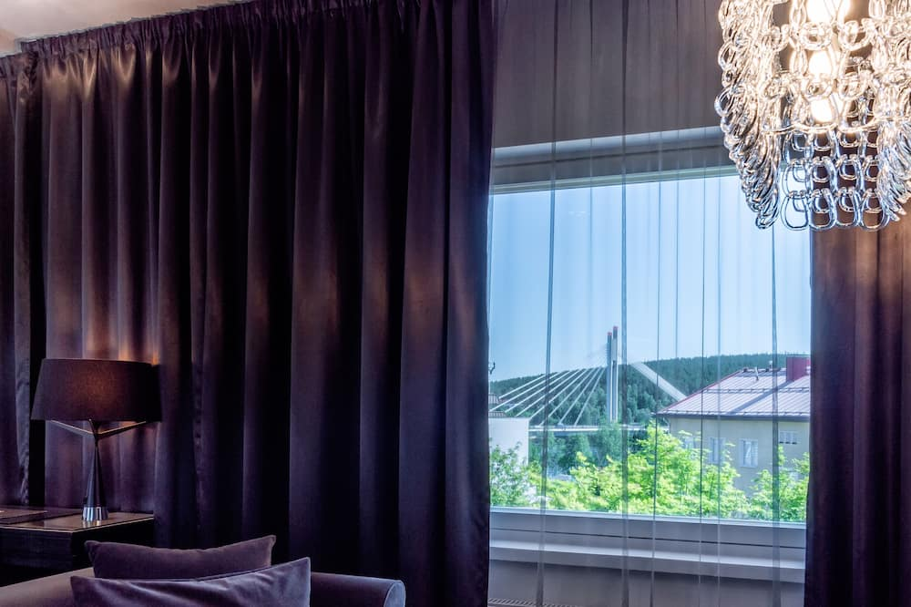 Arctic Double Room - Living Area