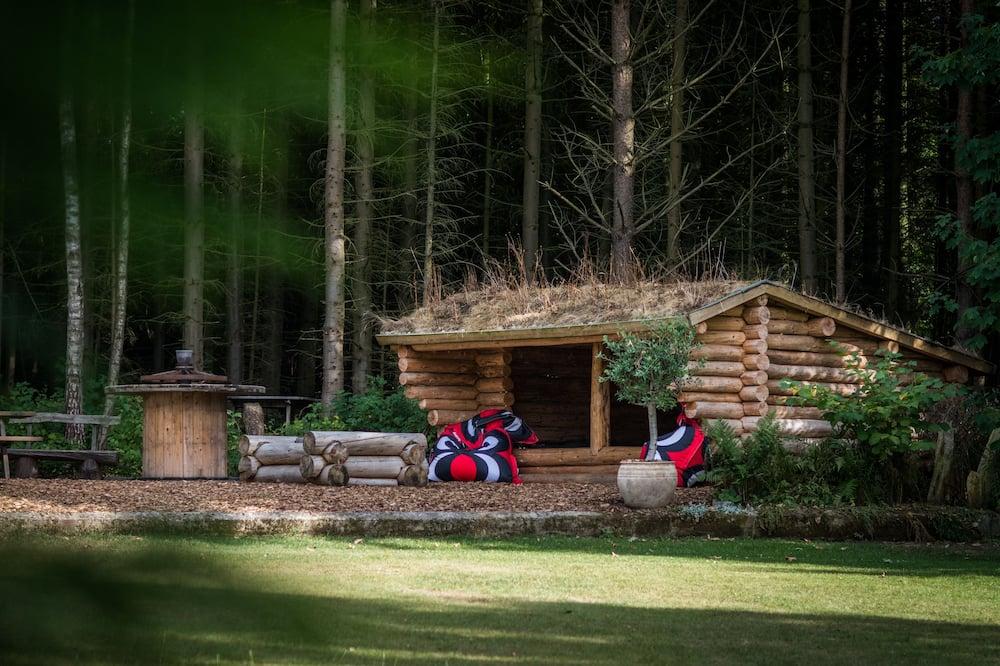 Habitación Confort con 1 cama doble o 2 individuales, vistas al jardín - Vistas al jardín