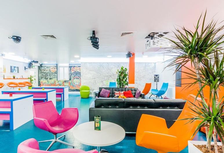 SoHostel, London, Lobby Sitting Area