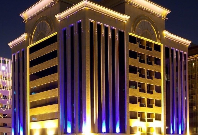 Al Raya Hotel Apartment, Dubai, Property entrance