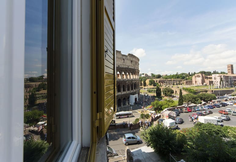 Colosseo Panoramic Rooms, Rome, Double Room, Guest Room View
