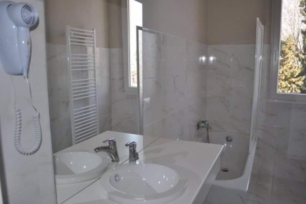公寓, 2 間臥室, 陽台 (Kitchenette) - 浴室