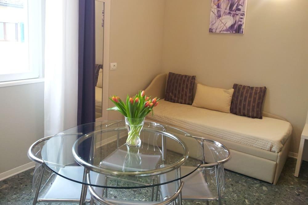 公寓, 1 間臥室, 簡易廚房 - 客廳