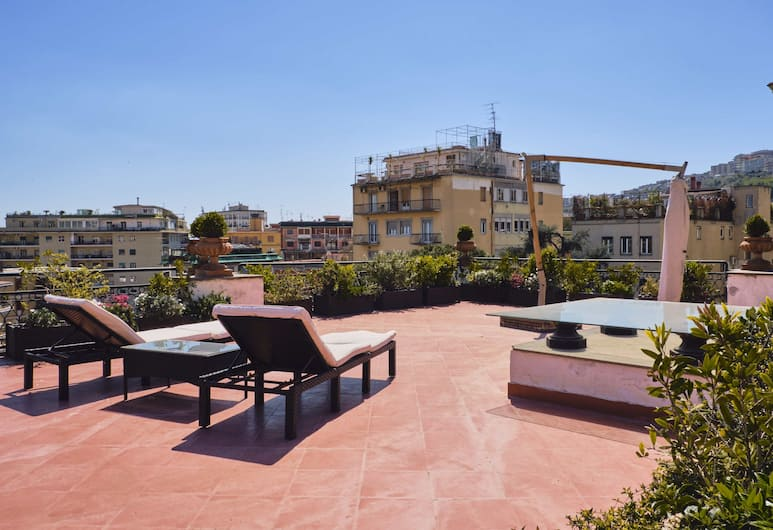 Casa Rubinacci , Neapel, Terrass