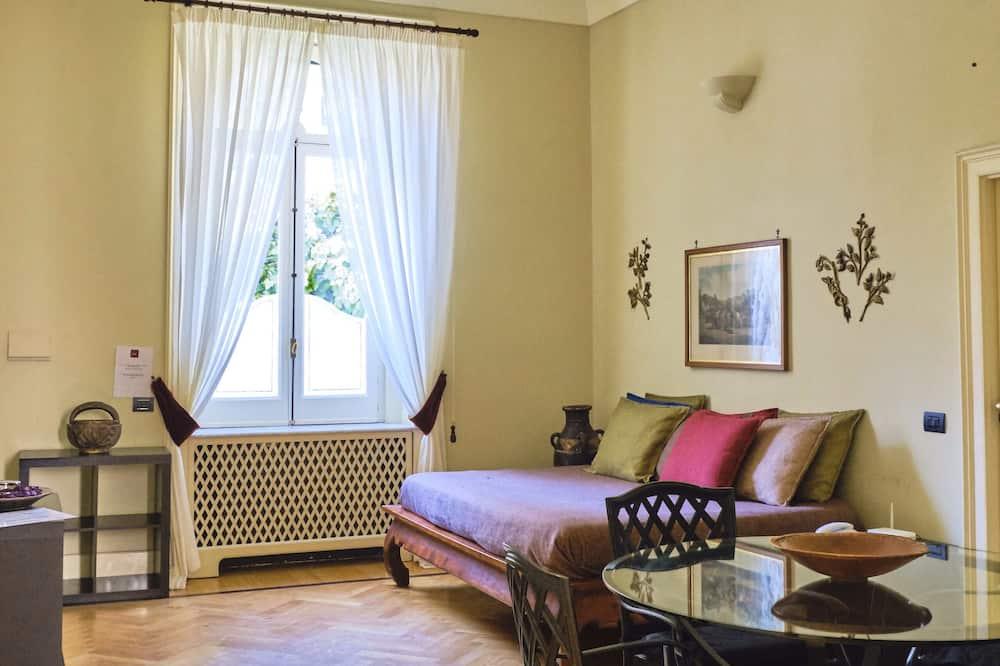 デラックス アパートメント 2 ベッドルーム (Lino) - リビング エリア