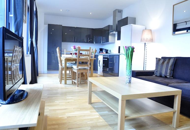 Andrew Superior Apartments, London, Külaliskorter, 3 magamistoaga, Lõõgastumisala