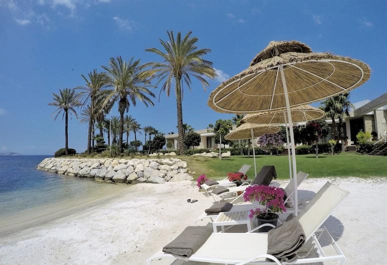 亞勒卡瓦克濱海精品飯店, 波德倫, 海灘