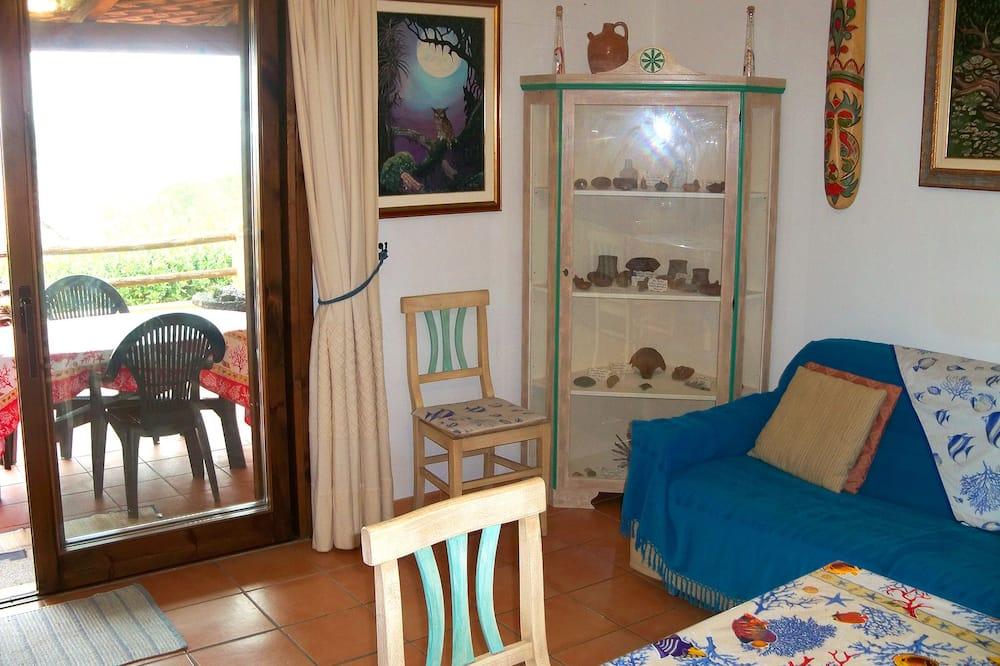 Villa, 1 Bedroom, Patio, Sea View (Obino) - Living Area