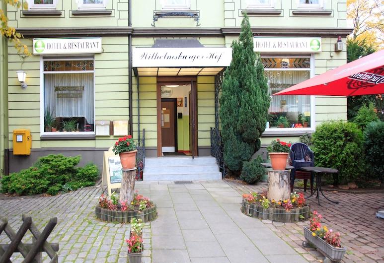 Hotel Wilhelmsburger Hof, Hamburgo, Entrada del hotel
