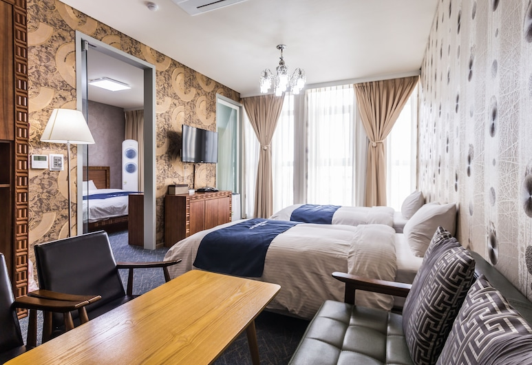 Hotel Air Relax, Incheon, Family Suite, 2 Bedrooms, Guest Room