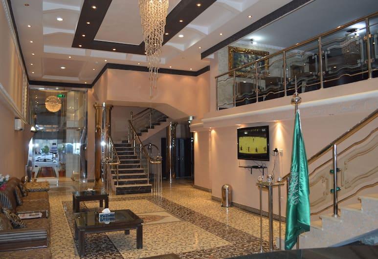 Bazil Hotel Suites, Riyadh, Lobby Sitting Area
