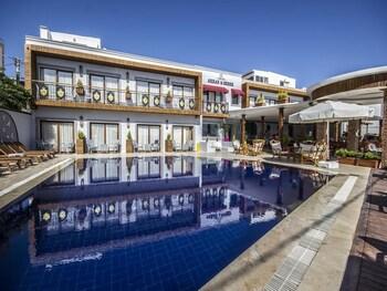Bodrum bölgesindeki Akkan Beach Hotel resmi