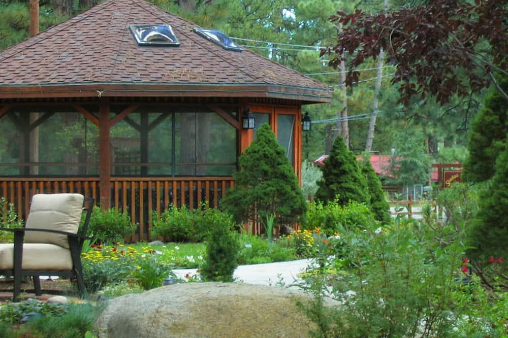 Lodge Room with Wood Fireplace - Lodge 109 - 室外 SPA 浴池