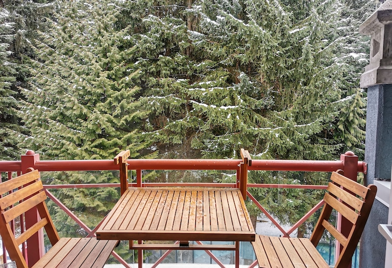 Alpenglow Lodge by MountainView, Whistler, Design-Apartment, 1 Schlafzimmer, Balkon