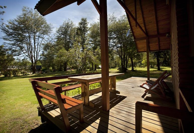 Cabañas Metreñehue, Pucon, Cabin for 8 people, Terrace/Patio