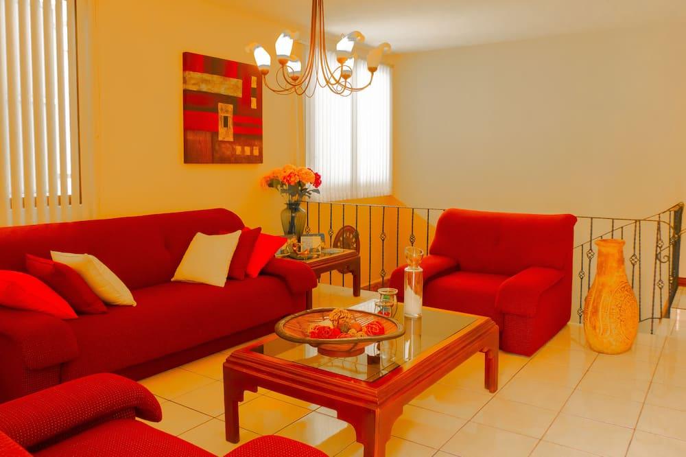 Habitación estándar, 2 camas dobles - Zona de estar