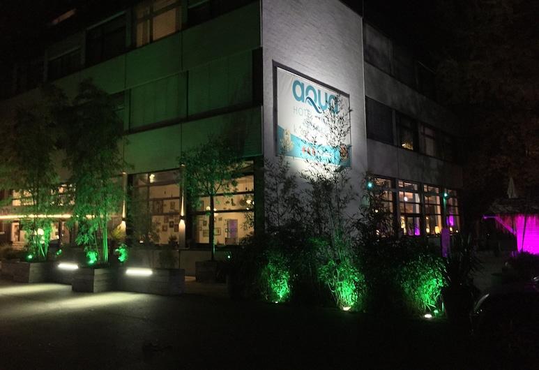 Aqua Hotel & Hostel, Konstanz, Terasa/trijem