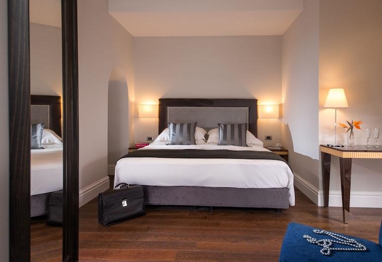 Tridente Suites, Rím, Izba typu Superior s dvojlôžkom alebo oddelenými lôžkami, Hosťovská izba