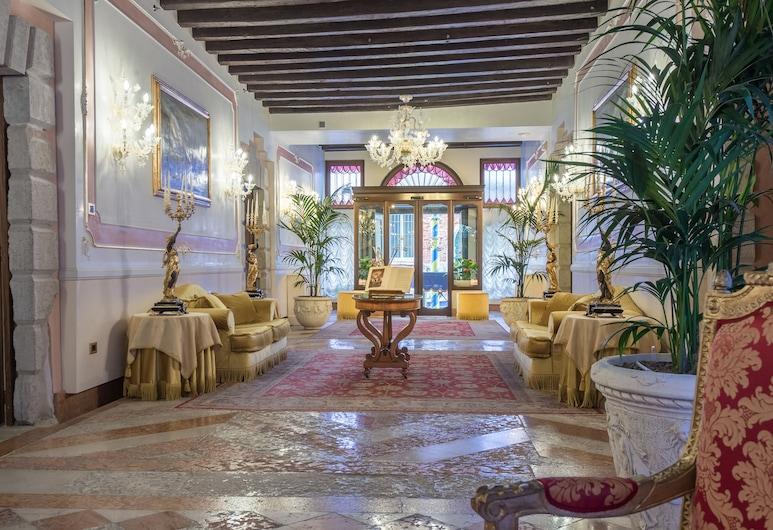 Hotel Ai Cavalieri di Venezia, Veneza, Entrada (parte interna)
