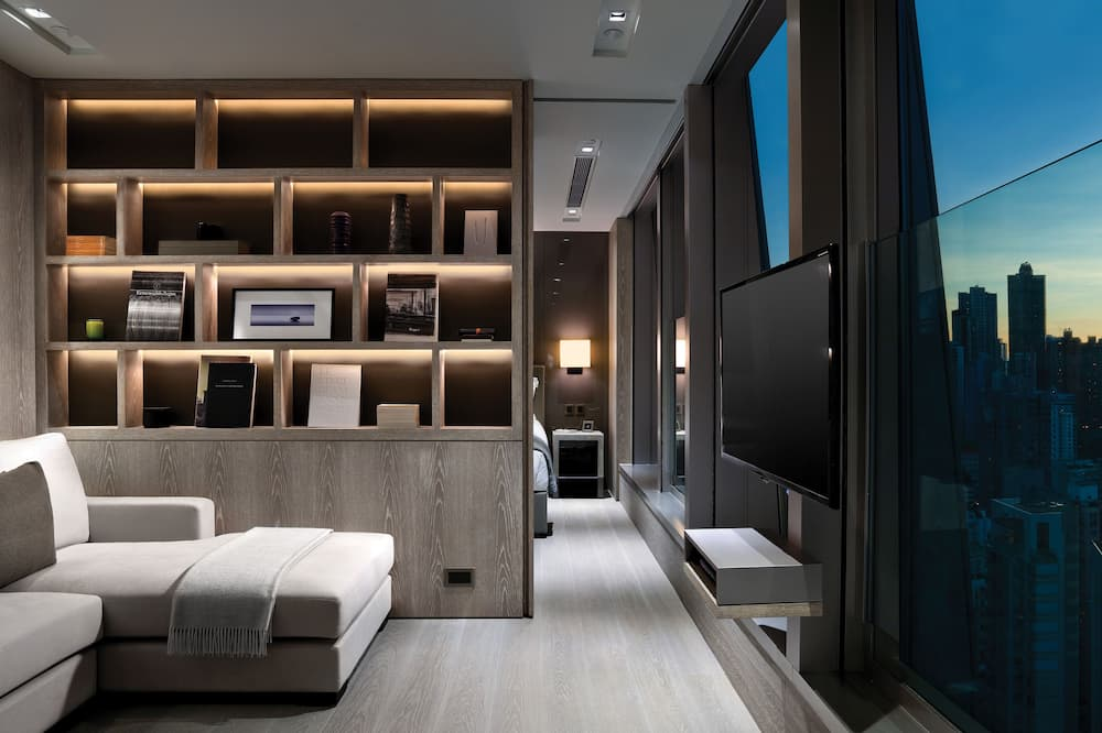 City View One Bedroom Suite - Living Room